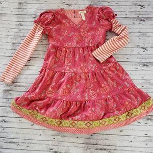 Matilda Jane 6 Persephone Dress Holiday Christmas